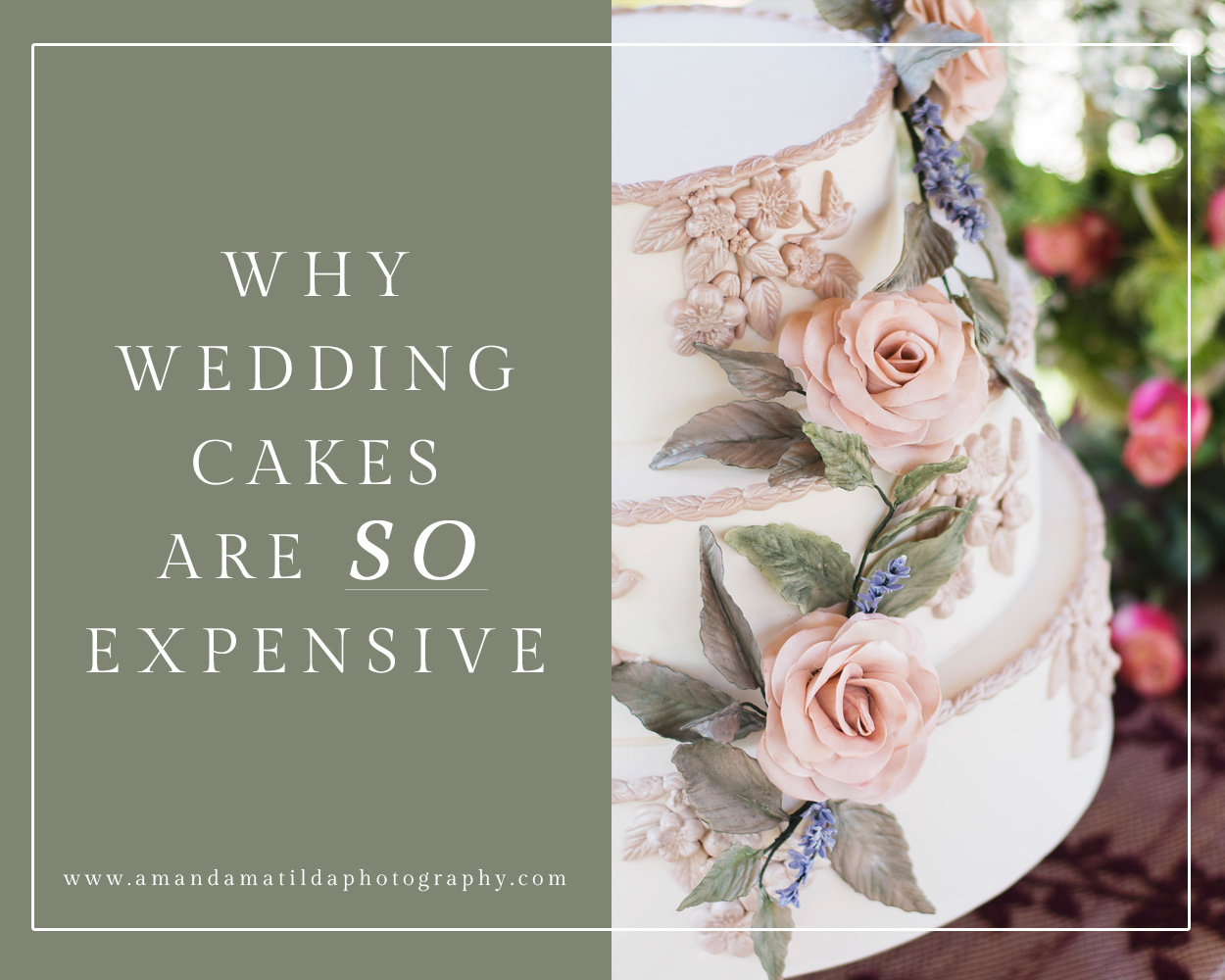 Why Are Wedding Cakes So Expensive